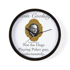 Calvin Coolidge Wall Clock