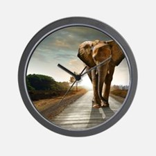 Big Elephant Wall Clock