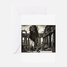 Interior view of the Temple of Neptune, Paestum, p