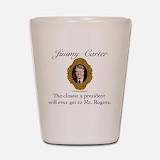 Jimmy Carter Shot Glass