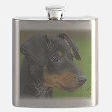 Manchester Terrier 9B085D-07_2 Flask