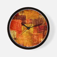 Grunge Box Wall Clock