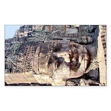 Bayon Crematorium Stone Buddha Decal