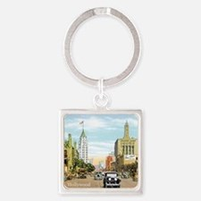 Vintage Hollywood Square Keychain