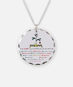 12 Days of Christmas Necklace