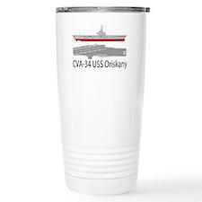USS Oriskany CVA-34 Travel Mug