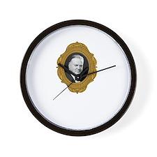 Herbert Hoover White Wall Clock