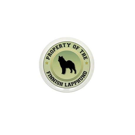 Lapphund Property Mini Button (100 pack)