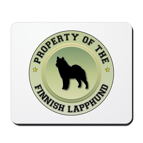 Lapphund Property Mousepad
