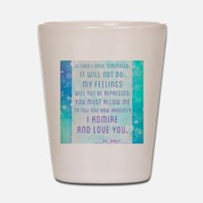 Darcy Quote Shot Glass