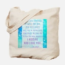 Darcy Quote Tote Bag