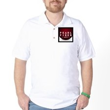 Pearl Fiber Arts square logo T-Shirt