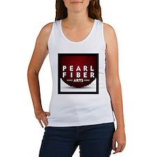 Pearl Fiber Arts square logo Women's Tank Top