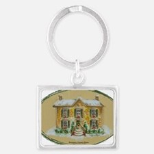Rosemary Clooney House Color Pe Landscape Keychain