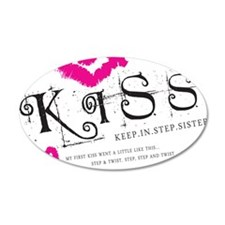 Breast Cancer Kiss Wall Decal