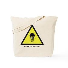 Memetic Hazard Tote Bag