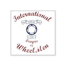 "International League of Whe Square Sticker 3"" x 3"""