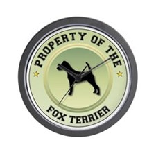 Terrier Property Wall Clock