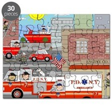 NYFD ACTION SCENE Puzzle