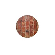 Brick Wall Mini Button