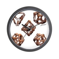 The Platonic Solids Wall Clock