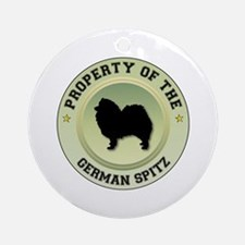 Spitz Property Ornament (Round)