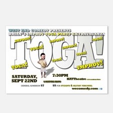 Brians Toga Extravaganza Postcards (Package of 8)