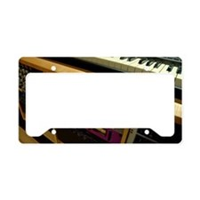 Keyboard and outboard effects License Plate Holder