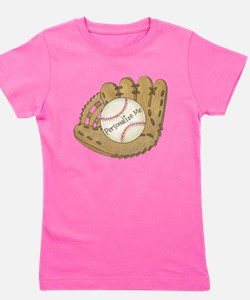 Custom Baseball Girl's Tee