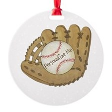 Custom Baseball Ornament