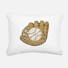 Custom Baseball Rectangular Canvas Pillow