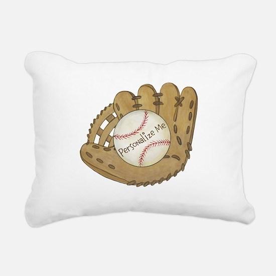 Custom Baseball Rectangular Canvas Pillow