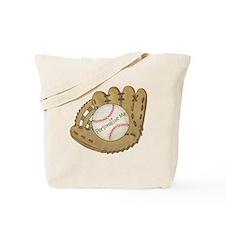 Custom Baseball Tote Bag