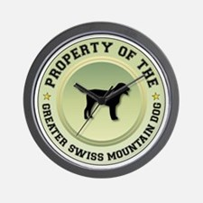 Swissie Property Wall Clock