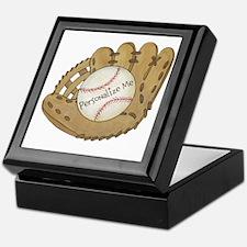 Custom Baseball Keepsake Box