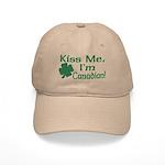 Kiss Me I'm Canadian Cap