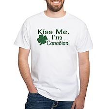 Kiss Me I'm Canadian Shirt