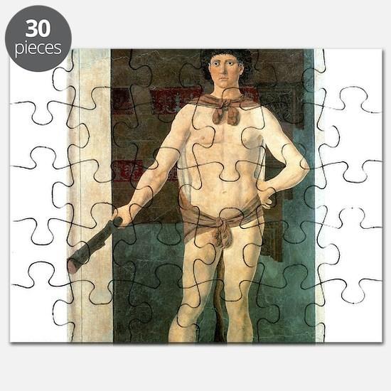 Hercules - Piero della Francesca Puzzle