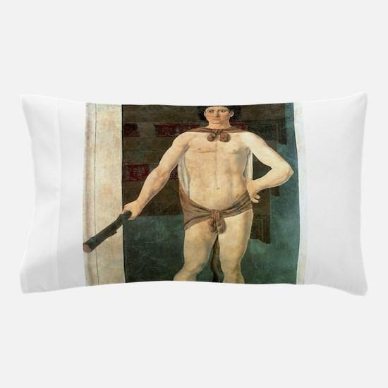Hercules - Piero della Francesca Pillow Case