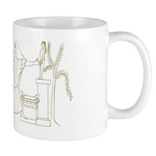 Digital illustration of Menelaus in pur Mug
