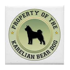 Karelian Property Tile Coaster