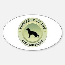 Shepherd Property Oval Decal
