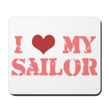 I ♥ my Sailor Mousepad