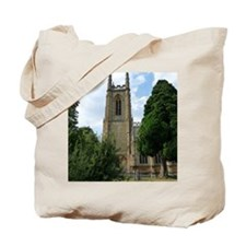 Building exterior of st peter ad vincula. Tote Bag