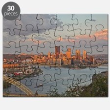 Pittsburgh Sunset Puzzle