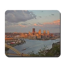 Pittsburgh Sunset Mousepad