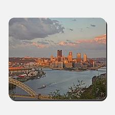 Pittsburgh Sunset Mousepad