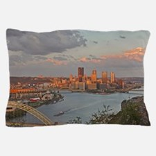 Pittsburgh Sunset Pillow Case