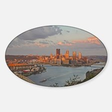 Pittsburgh Sunset Decal