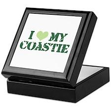 I ♥ my Coastie Keepsake Box